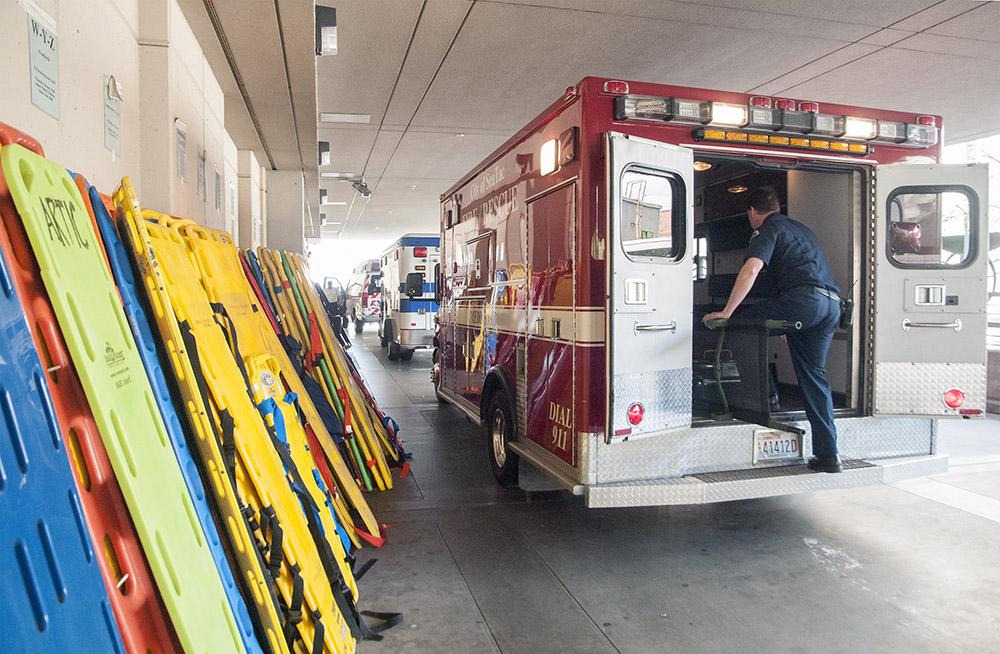Inside Harborviews emergency department  Newsroom