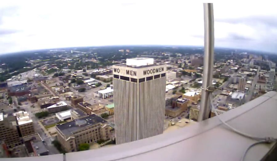 070120 WoodmenLife Tower Footage