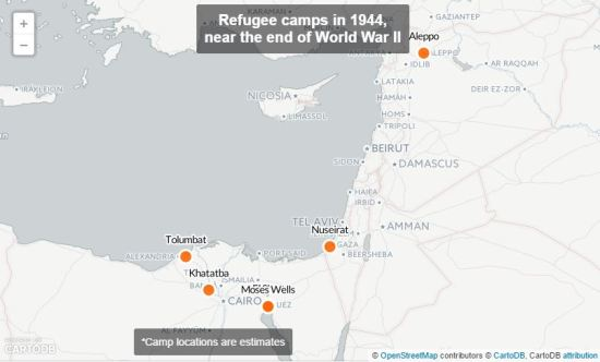 Refugees during World War II fled to the Middle East. Many settled in Syria's Aleppo | Source: pri.org