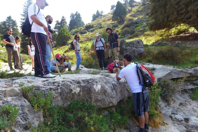 Photo-stop in Qammoua Forest, Akkar, North Lebanon | Source: NewsroomNomad