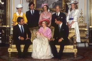 Уильям Диана Королева Елизавета II