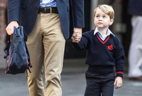 Он выглядел немного более осторожным к тому времени, когда он попал в школу (я