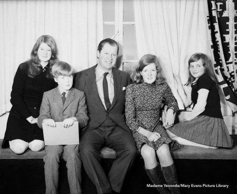 Семейное фото Спенсеров