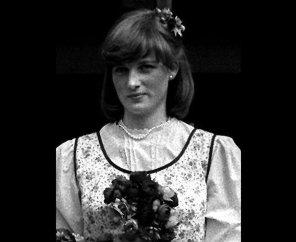 Диана в качестве подружки невесты для ее сестры Джейн в 1978 году
