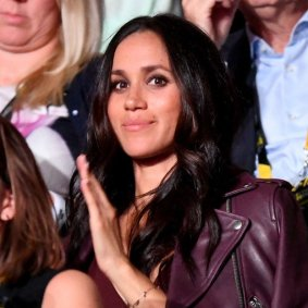 TORONTO, ON - SEPTEMBER 23: Actress Meghan Markle attends the opening ceremony on day 1 of the Invictus Games Toronto 2017 at Air Canada Centre on September 23, 2017 in Toronto, Canada. The Games use the power of sport to inspire recovery, support rehabilitation and generate a wider understanding and respect for the Armed Forces (Photo by Samir Hussein/WireImage) *** Local Caption *** Meghan Markle