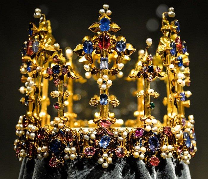 Корона принцессы Бланш – старейшая и единственная сохранившаяся средневековая корона Англии