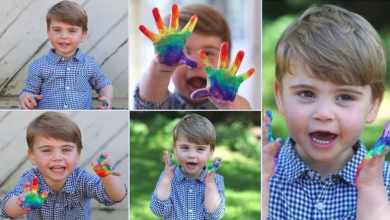 Photo of Prince Louis of Cambridge is 2 years old