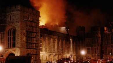 Photo of Страшный пожар в Виндзоре