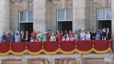 Photo of Впервые на балконе Букингемского дворца