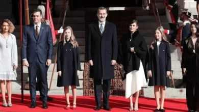 Photo of Королевская семья Испании: первый совместный выход в этом году