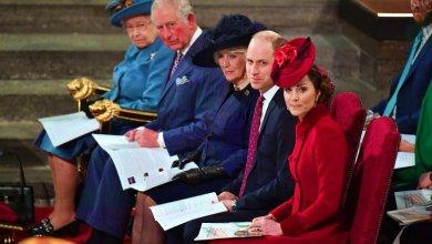 Photo of Королевские особы на службе в честь Дня Содружества