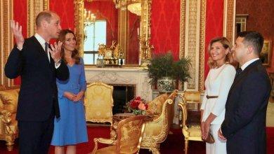 Photo of Герцог и герцогиня Кембриджские встретились с президентской четой из Украины