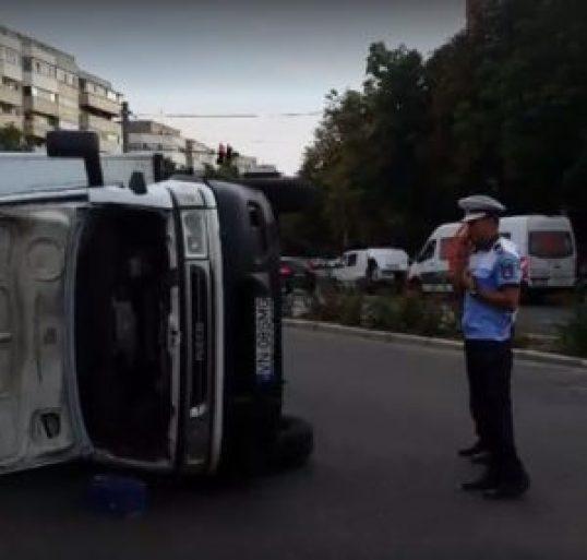 accident in centrul Buzaului 2
