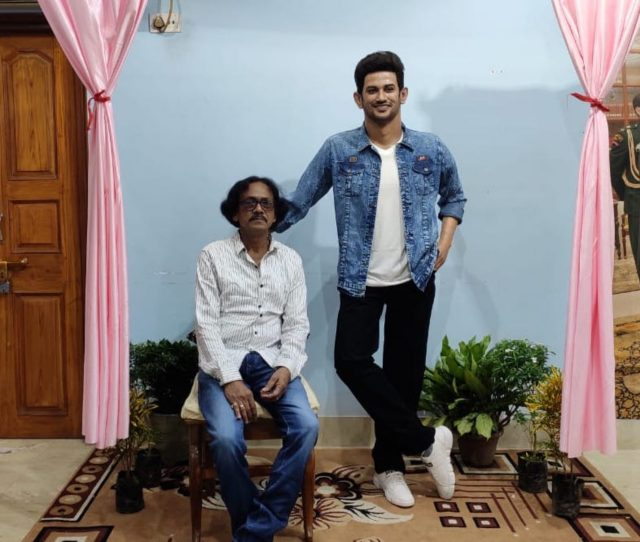 13 2 1 scaled - Sushant Singh Rajput Immortalized by Sculptor Susanta Ray