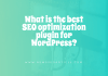 What is the best SEO optimization plugin for WordPress?