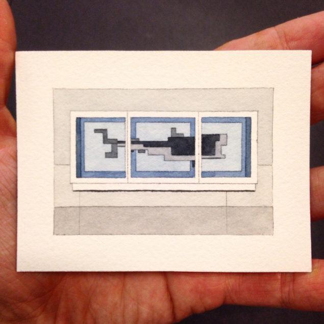 Херст, зображення з виставки Білі Стіни Сан-Франциско