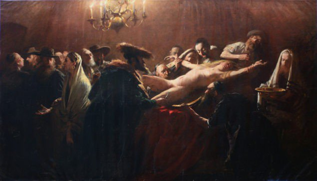 "Михай Мункачи. ""Кровавый ритуал"". 1882-97 гг."