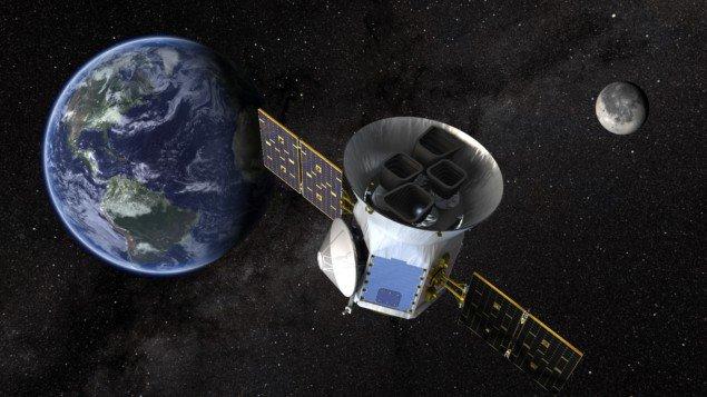 Транзитний екзопланетний пошуковий супутник НАСА.