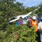 12 persons survive plane crash at Matthew's Ridge