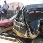 Several persons injured in Corentyne smash up