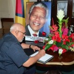 President Ramotar to attend Nelson Mandela's funeral