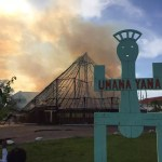 Umana Yana destroyed by Fire