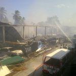 Cars gutted as fire destroys Akbar Auto Sales on West Coast