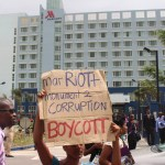 Wine, Wishes and Protests as new Guyana Marriott opens its doors