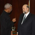 New U.S Ambassador presents credentials and promises more help for Guyana's development