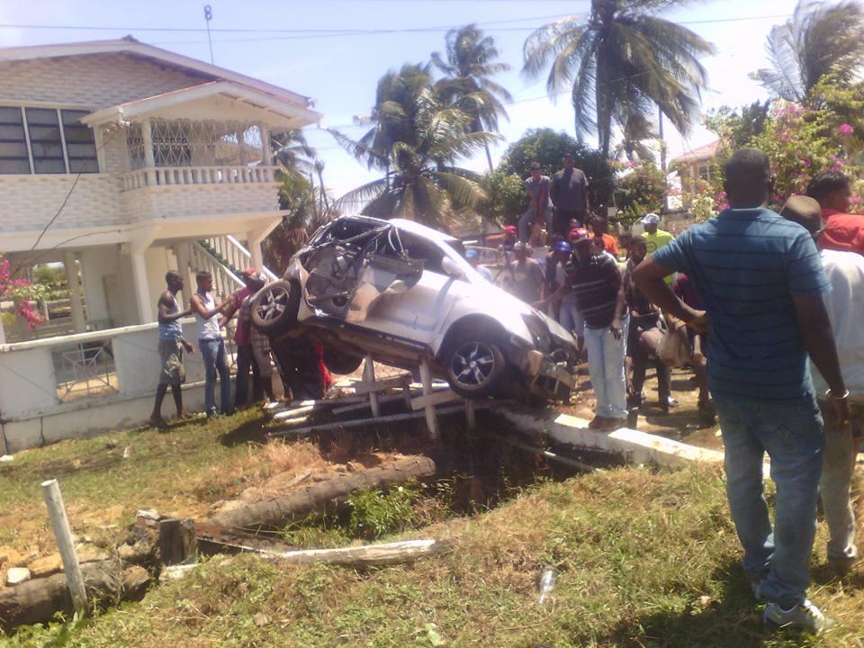 Car Accident In Guyana Berbice