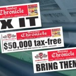 Chronicle workers threatening strike action over bonus