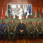 President reminds new GDF Officers of their obligation to obey Guyana's Constitution