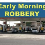 Suspected bandit arrested after gas station robbery