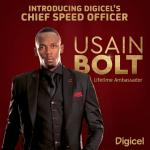 Usain Bolt is Digicel's Chief Speed Officer in lifelong endorsement deal