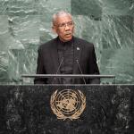 "President Granger assails Venezuela's ""territorial ambitions"" in UN General Assembly address"
