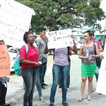 Handful of UG students protest 5% increase in tuition fees