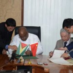 Guyana and China ink US$45.6 Million loan deal for expansion of East Coast Demerara road