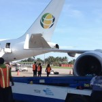Fly Jamaica and CAL planes grounded after arriving CAL jet hits parked Fly Jamaica plane