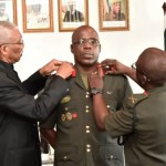 Brigadier Patrick West takes helm of GDF as Chief of Staff