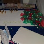 Nine arrested after quantity of ecstasy pills and ammunition found in Rasville apartments