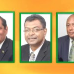 Nagamootoo, Ramjattan and Trotman to battle for AFC Leadership