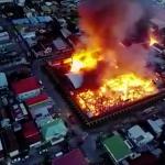 Fire engulfs Camp Street prison during jailbreak; Prison officers and Prisoners injured