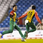 Rashid Khan's hat-trick leads Amazon Warriors into CPL Semi Finals