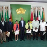 Members of Local Government Commission take oath of office