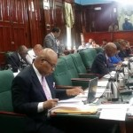 Edghill returns to National Assembly after suspension and promises to be respectful