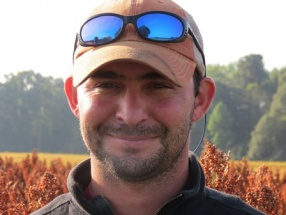 Hollens Free has joined the growing precision-agriculture program at the Edisto Research and Education Center.