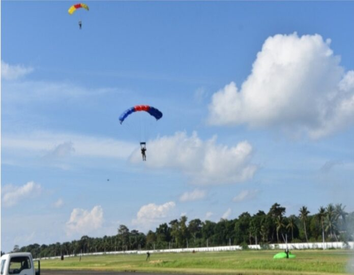 Andaman and Nicobar Command conducts Tri-Services Para Jumping and Freefall Skydiving Training Course