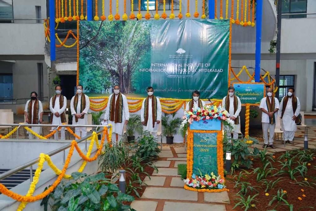 IIIT-Hyderabad Celebrates E-Convocation 2021