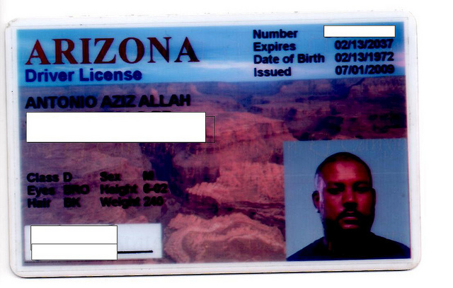 drivers license arizona expiration date
