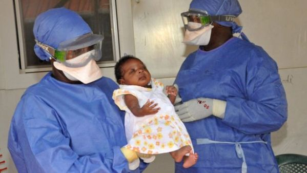Baby Noubia, Guinea's last Ebola patient, was released from hospital in November